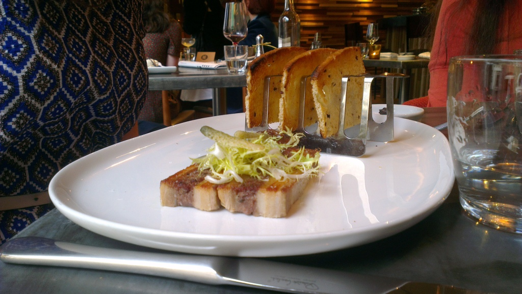 Seared Plantation Pork Terrine
